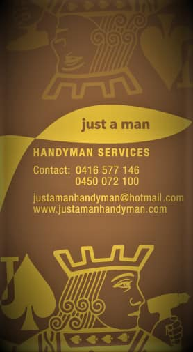 Just A Man Handyman Services Pic 1
