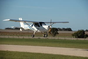 Recreational Pilots Academy Pic 3 - Jabiru at Murray Bridge