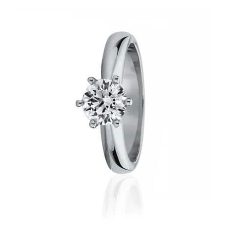 Gloss Diamonds Pic 1 - Canadian Fire diamond solitaire ring