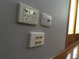 Audioworx Pic 4 - Aerial install and wall mounted speaker inputs