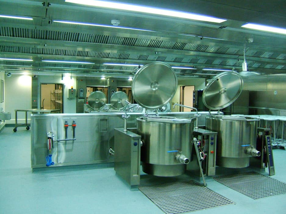 Foodservice Consultants Australia Pic 1 - Heidelberg Repatriation Hospital Central Production Kitchen