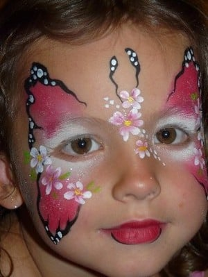 Balloonaversal Entertainments Pic 5 - Beautiful Face Painting