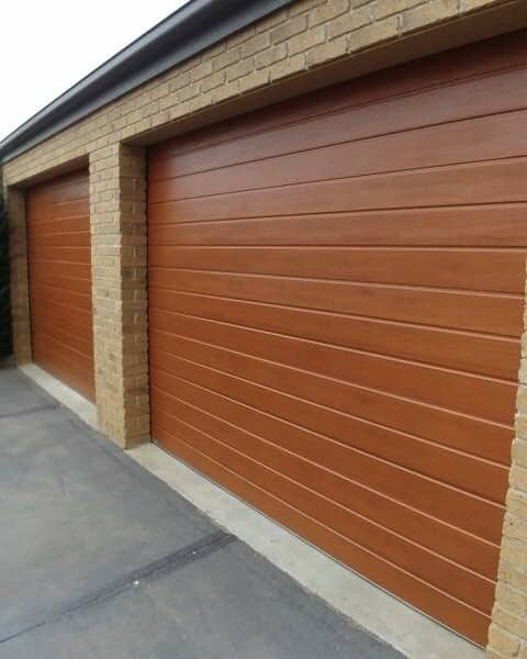 Everlift Garage Doors Pic 1 - Decowood Sectional Doors