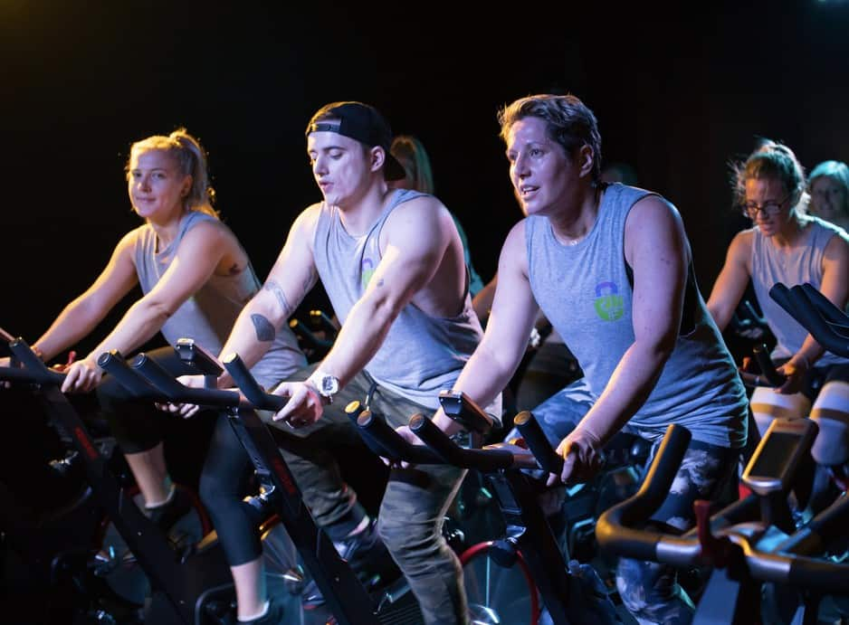 InnerFit Pic 2 - Spin Class just like a night out Party on a bike