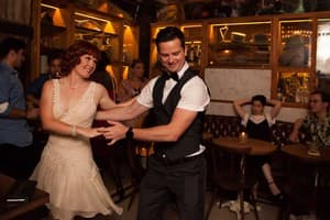 All About Swing Pic 2 - All About Swing Palmer and Co providing entertaining every week Swing Lindy Hop and RocknRoll Dancing