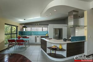 Craftbuilt Kitchens Pic 2 - Complementary Curves