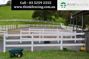 Think Fencing Pty Ltd Pic 5 - Horse fencing