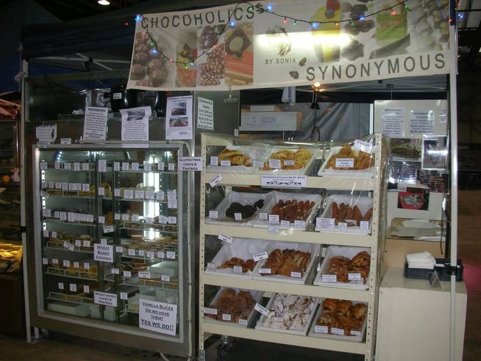Chocoholics Synonymous Pic 1 - Stall 25 in the big shed Adelaide Showgrounds Farmers Market Sunday 9am 1pm only