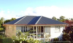 Residential Roofing Solutions Pic 3 - asbestos fibro roof after conversion to colorbond