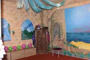 Fairy Wings & Wishes Pic 5 - The magical castle room where the fun begins