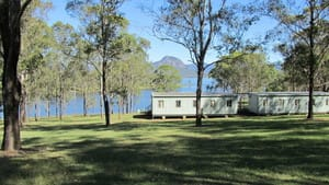 Camp Moogerah Pic 2 - Water front group accommodation on Lake Moogerah ideal for school camps