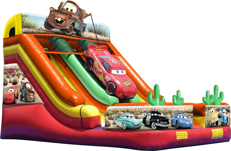 Aussie Jumping Castles Pic 1 - Extreme fun Cars Slide