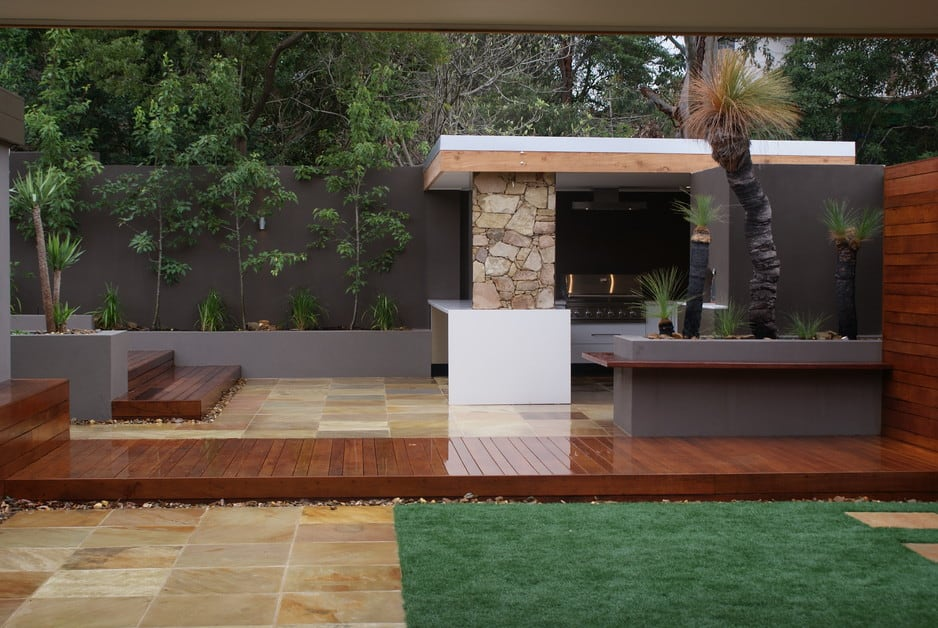 botanaqua landscaping in greensborough  melbourne  vic  landscaping