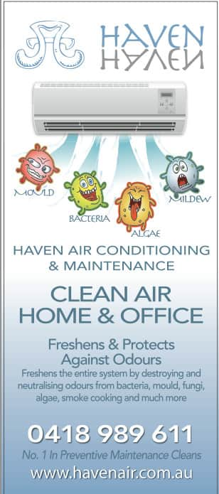Haven Air Conditioning Pic 1 - Clean air Only the best for your family
