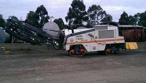 Cranes Asphalting & Bitumen Sealing Pty. Ltd. Pic 2 - Our New Wirtgen Road Profiler