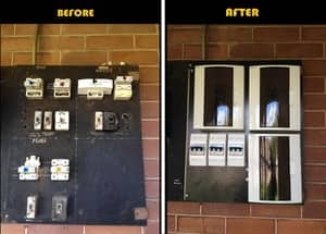 Quartz Electrical Pic 5 - Switchboard upgrade Windsor