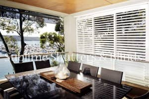 Sublime Shutters & Blinds Pic 2 - Sliding Aluminium Shutters by Sublime Shutters Blinds