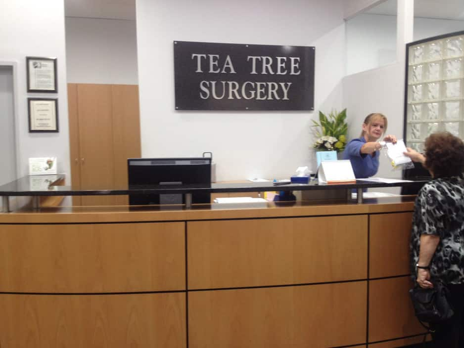 Tea Tree Medical Centre Pic 1 - Professional friendly reception staff dont often have to wait long to pay