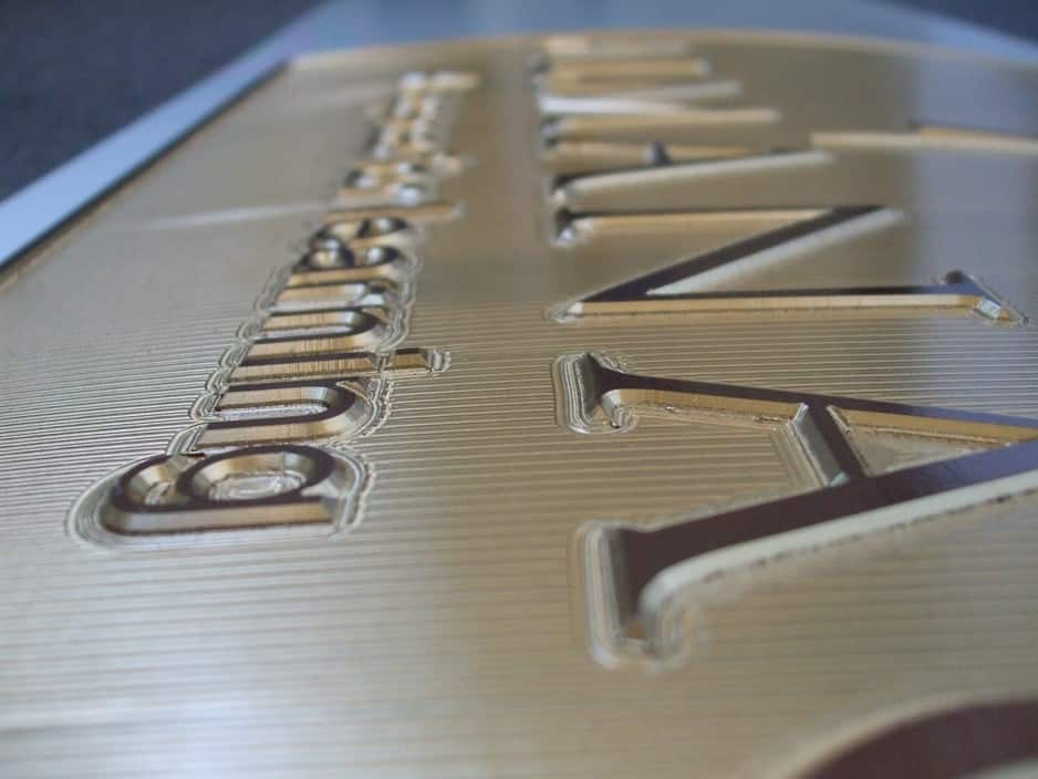 Precise Engraving & Signs Pic 1 - CNC MACHINE ENGRAVING brass aluminium plastics acrylic MDF PVC Plaques labels statutory signs name plates house namesnumbers