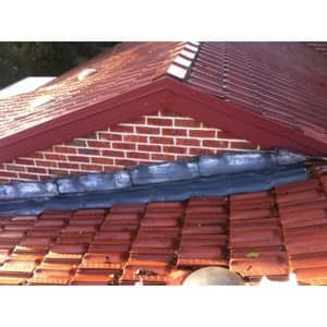 TOMKAT Roofing Pic 4 - Lead Flashing Roof Repair