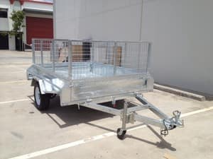 Trailers Direct Pic 2 - Galvanised box trailers Single and Dual axle