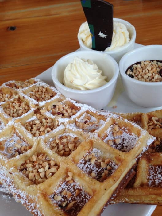 House Of Anvers Pic 1 - Belgian Waffles with Hazelnut Chocolate