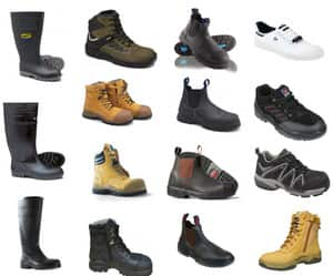 Adelaide Fuel & Safety Pic 4 - Top names in steel cap safety boots Blundstone Steel Blue ROSSI