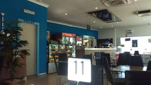 blu c cafe Pic 3 - Inside
