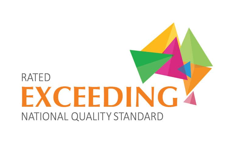 Eco Kids Early Learning Centre Pic 1 - Eco Kids ELC are proudly rated as EXCEEDING all National Quality Standards by the Dept of Education