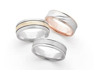 Robert Peel Jewellers Pic 4 - GREAT RANGE OF GENTS WEDDING BANDS TO CHOOSE FROM