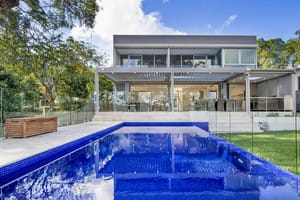Domus Homes Pic 3 - New luxury contemporary house pool in Illawong Sydney