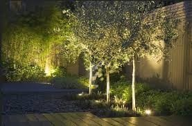 Husky Electrical Pic 5 - Garden lighting design and installation Birchgrove electrician