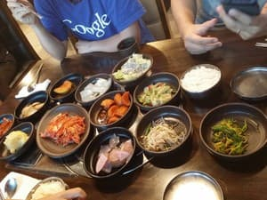 Jonga Jip Korean Restaurant Pic 5 - Side dishes