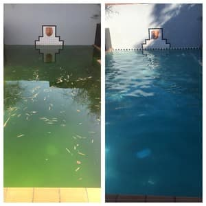 On Top Pool Service Pic 4 - Before And After