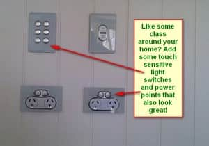 Weiss Electrical Pic 2 - Decorative power points and light switches for that extra bit of class