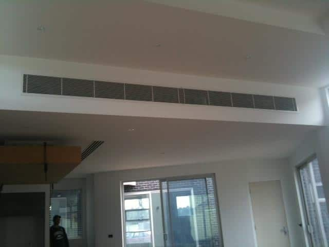 Lakes Heating & Cooling (Vic) Pty Ltd Pic 1 - Linear Bar Grilles in open living areas look cool and sophisticated