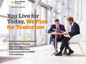 Anne Street Partners Financial Services Pty Ltd Pic 5 - You Live for Today We Plan for Tomorrow Brisbane