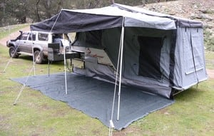 Bean Offroad Camping Camper Trailer Hire Pic 4 - A set up like this within 10 minutes perfect