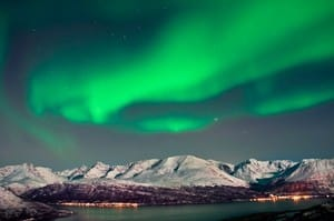 50 Degrees North Pic 2 - Aurora Borealis in Norway