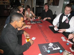 Blackjack Nights Pic 2 - Casino Nights Melbourne