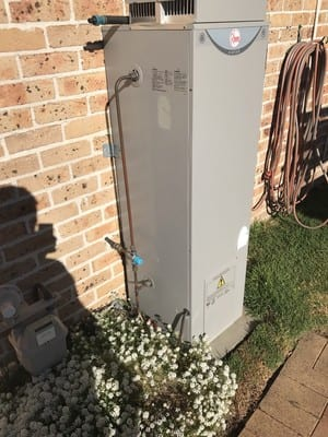 Quakers Hill Hot Water Pic 5 - Rheem 135ltr 4 Hot Water Heater replacement for Vulcan 90ltr