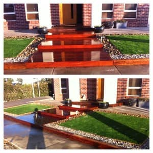 DASH Landscaping Pic 3 - Decking and Landscaping Point Cook