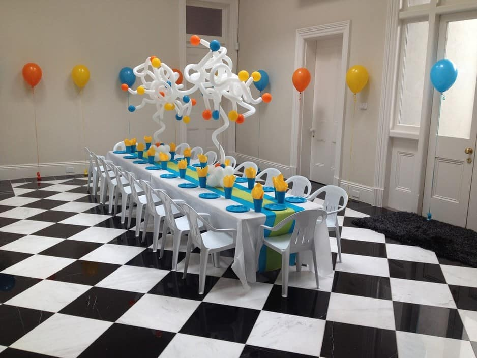 Party Hire for Kids Pic 1 - table and chair hire