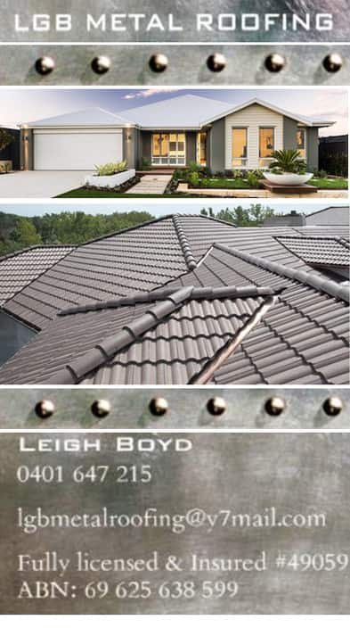 LGB Metal Roofing Pic 1 - Roofing Essendon