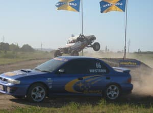 Off Road Rush Pic 3 - v8 buggies and wrx turbo rally